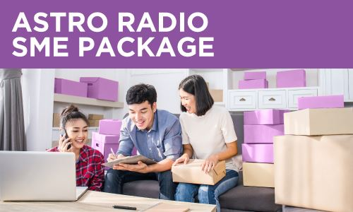 SMEs NOW GET UP TO 60% OFF ASTRO RADIO ADS SIMPLY BY SWIPING THEIR CREDIT CARD