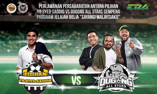 Dugong All Star vs YB Syed Saddiq