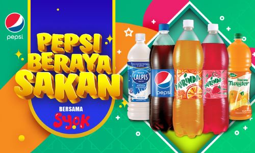 Pepsi Beraya Sakan: 5 Days, 5 Million Listeners. 23,0000 Contest Entries