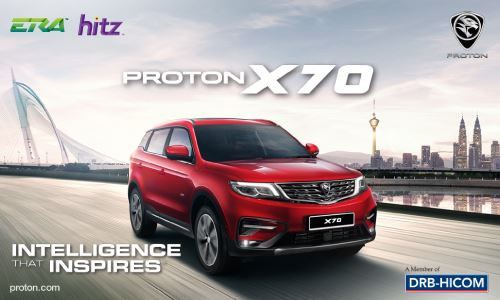 Proton X70 with HITZ and ERA