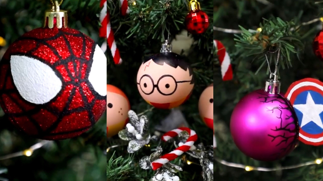 These MCU And Harry Potter Christmas Baubles Are Exactly What Your Christmas Tree Needs!