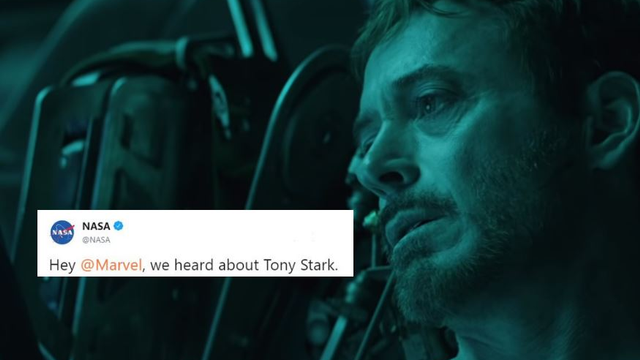 NASA Sent The Avengers Some Advice On How To Save Tony Stark In Space!
