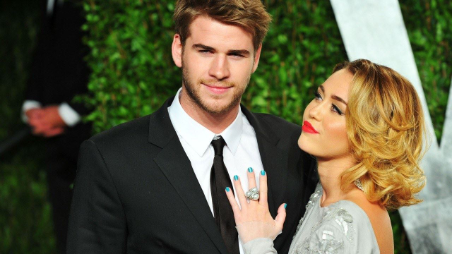 To Celebrate Valentine's Day, Miley Cyrus Shared Unseen Pictures From Her Wedding!