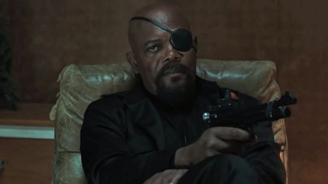 Someone Messed Up Nick Fury's Eyepatch And Samuel L. Jackson Is ANGRY