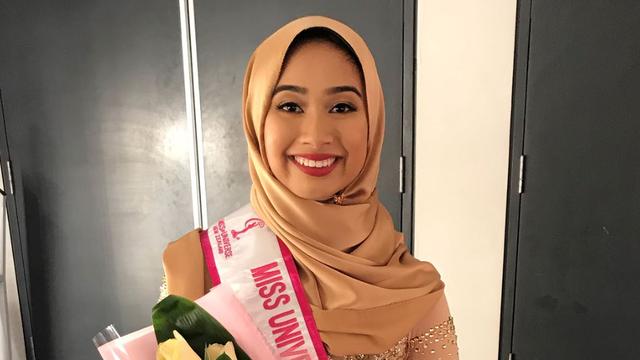 Malaysian-Born Hijabi, Nurul Zuriantie, Places Fifth At Miss Universe New Zealand 2018