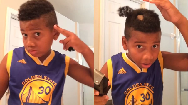 Kid Does A Hair Tutorial And It Goes Horribly Wrong