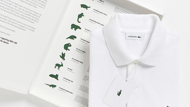 This Famous Clothing Brand Changed Their Logo To Support Endangered Animals