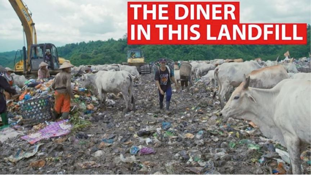 Diner Located In Landfill Allows Customers To Pay Using Plastic Waste