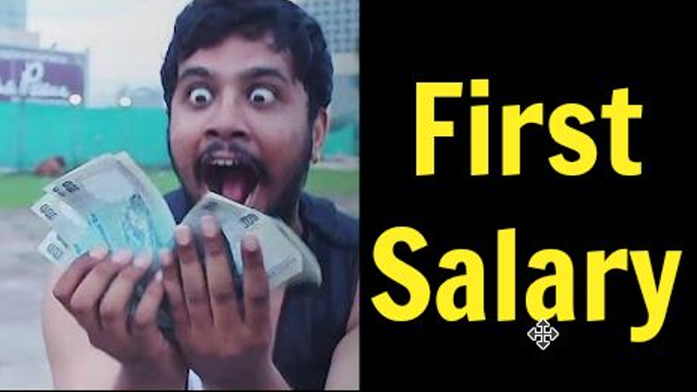 10 Thoughts Everyone Has Upon Getting Their First Salary
