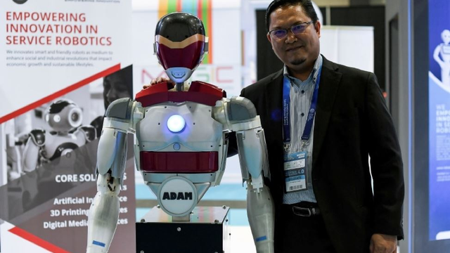Have You Met ADAM, Malaysia's Own Humanoid AI Robot?