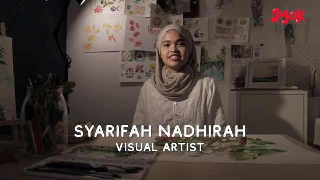 Full Time Artist | Syarifah Nadhirah (Visual Artist)