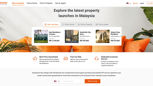 Ohmyhome's the First Platform to Make Cross-Border Property Transactions Between Malaysia & Singapore Easier!
