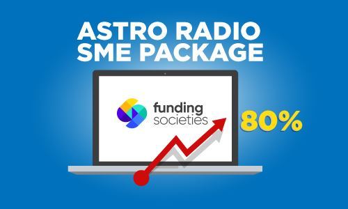 Radio Advertising Increased Funding Societies' Website Traffic by 80%