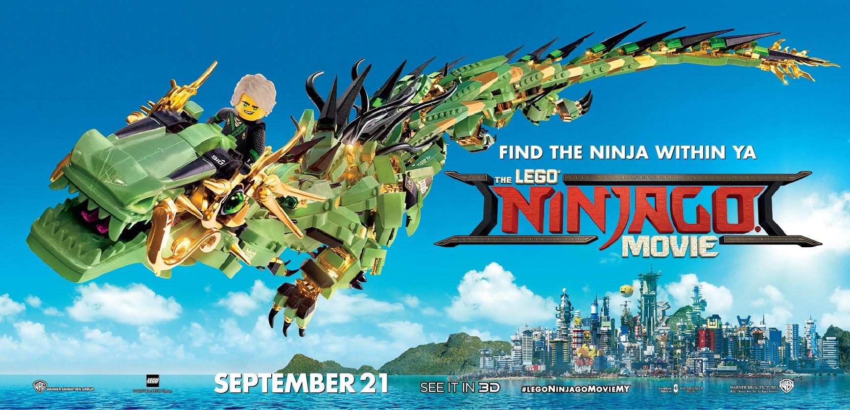 panggung era the lego ® ninjago ® movie