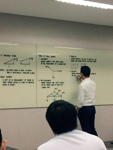 jarang ada lelaki boleh tulis kemas macam profesor ni