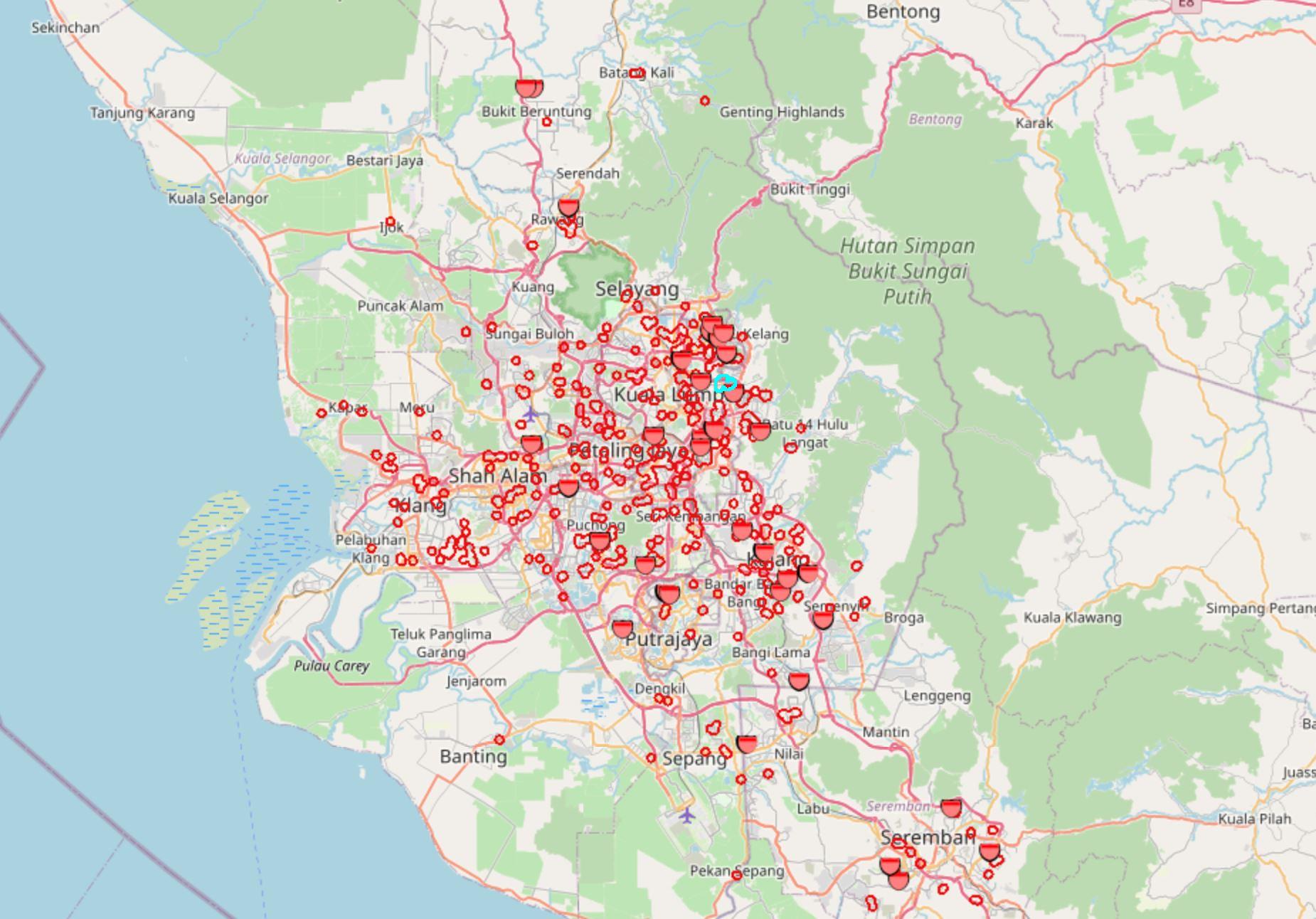 lembah klang kritikal kes demam denggi, hampir semua kawasan dijangkiti
