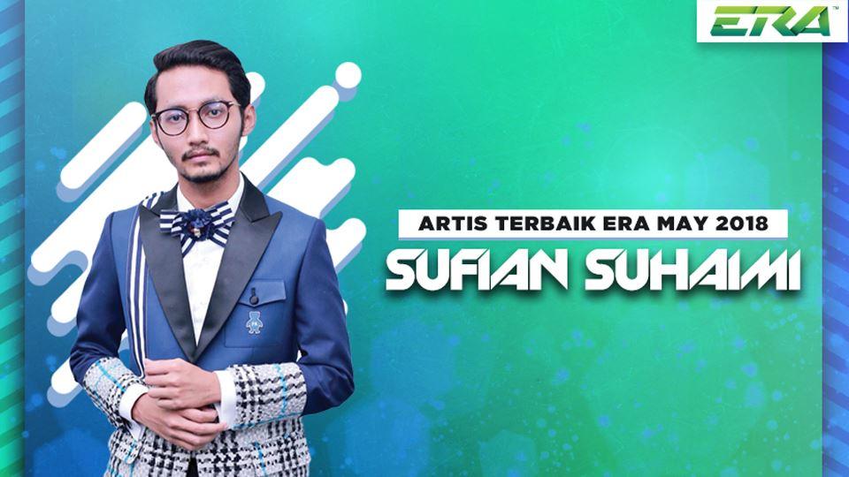 artis terbaik era mei 2018- sufian suhaimi