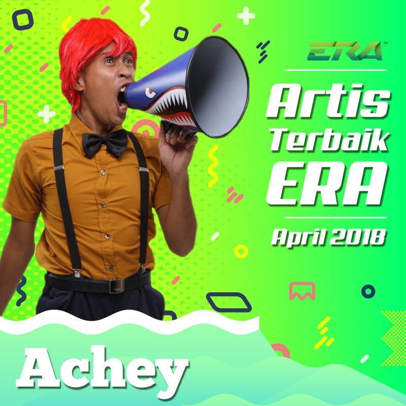 artis terbaik era april 2018: achey