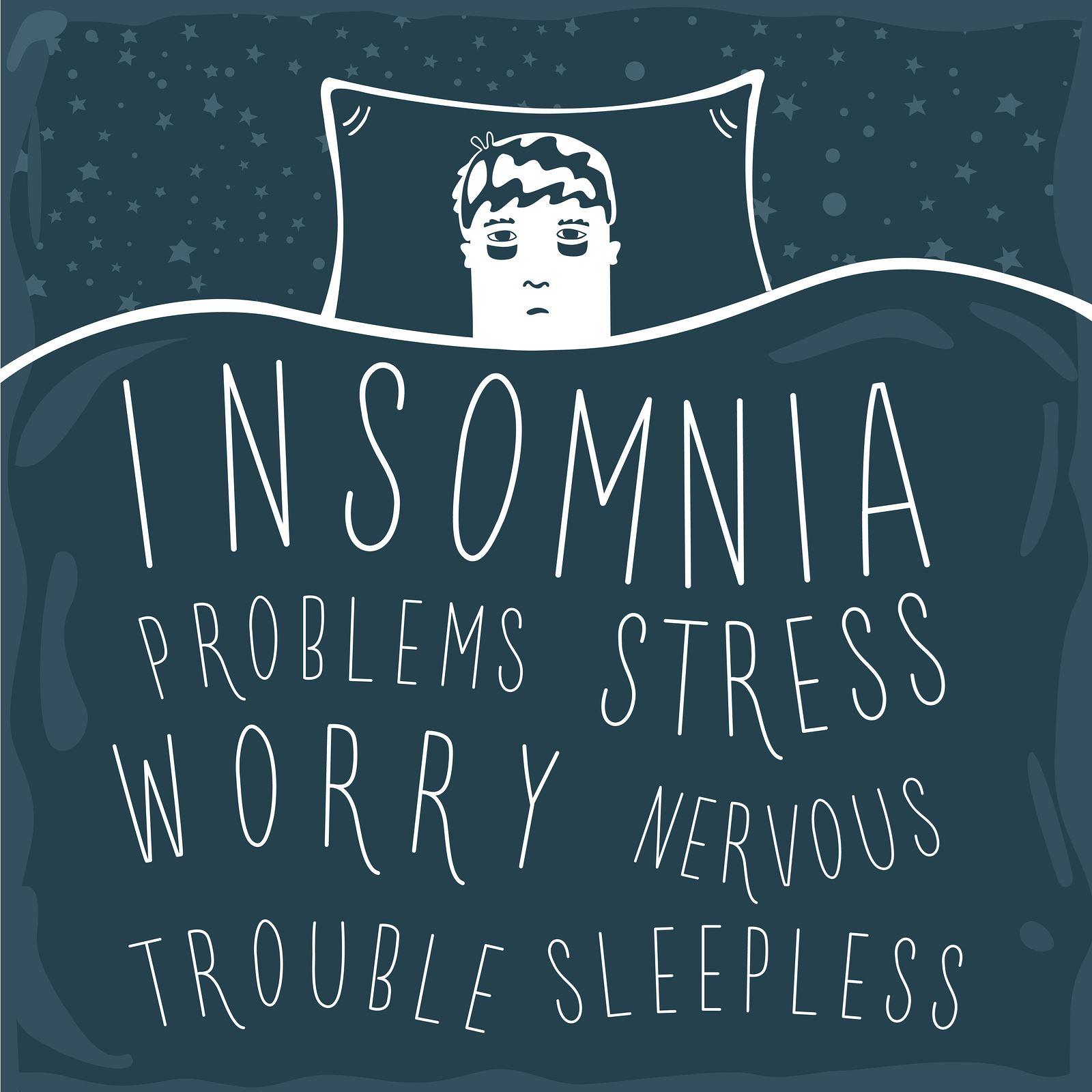 merindui seseorang dan tak move on punca susah tidur malam
