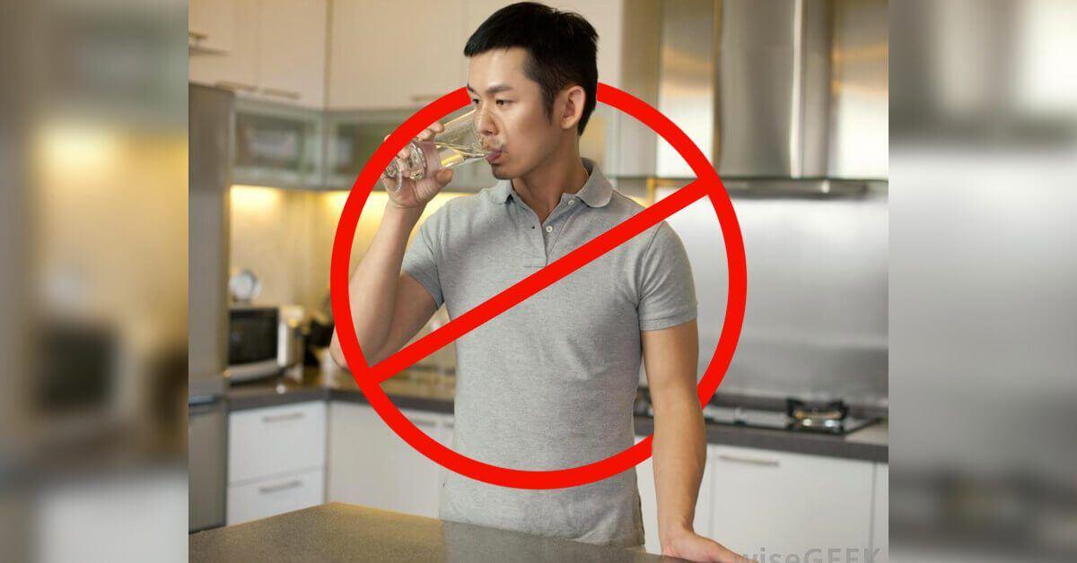 minum berdiri punca cepat rasa haus walaupun dah minum banyak