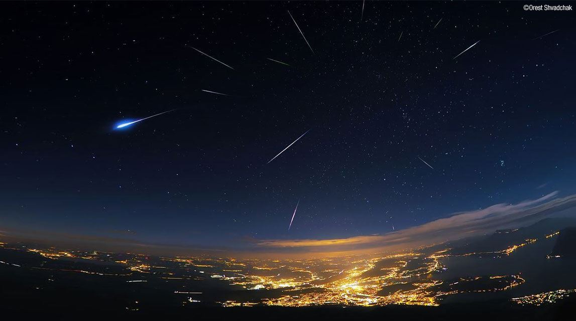 hujan meteor paling best hujung minggu ni