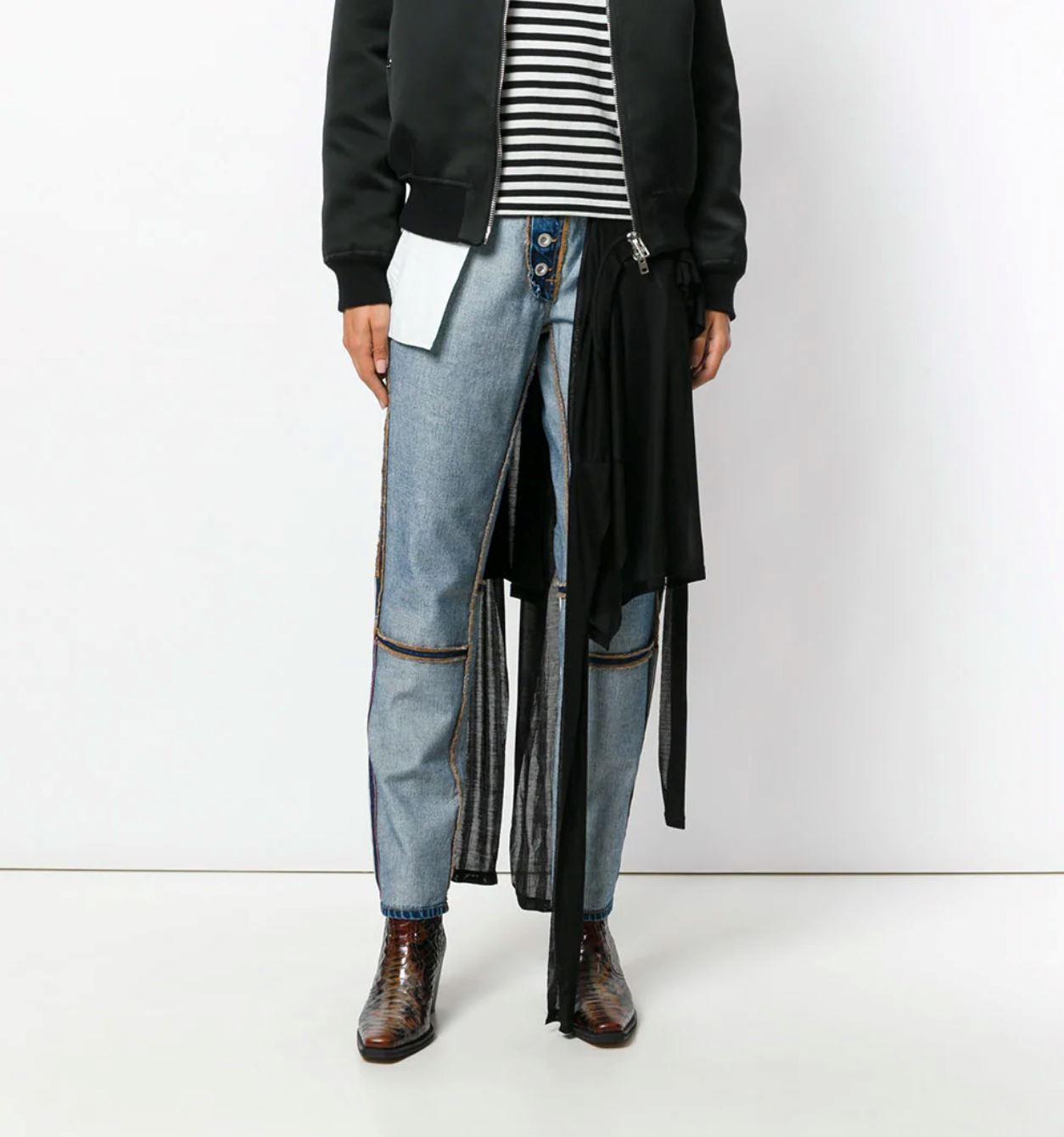 design jeans terbalik ini jual pada harga rm1800. ada yang nak beli?