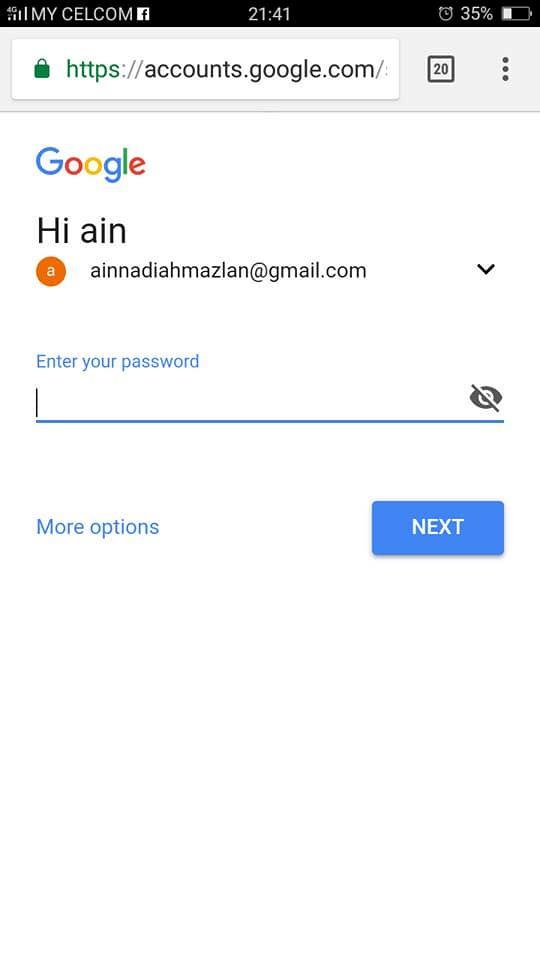 cara mudah nak kesan handphone yang tercicir guna akaun google
