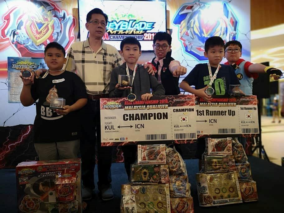 akan wakil malaysia main beyblade di korea, kanak-kanak ini buat ramai bangga