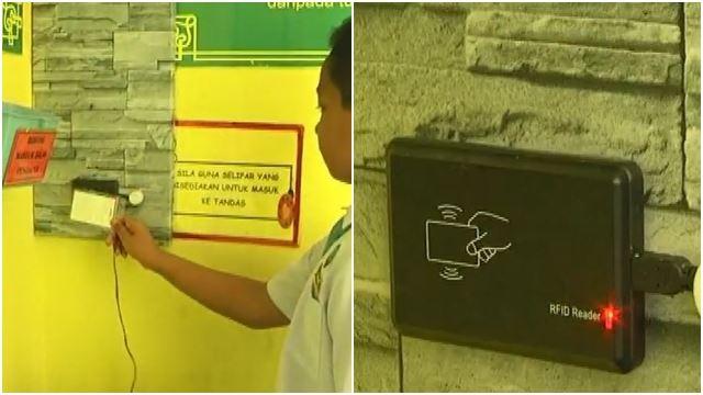 tandas sekolah di perak guna scan id boleh kesan siapa yang suka pergi toilet