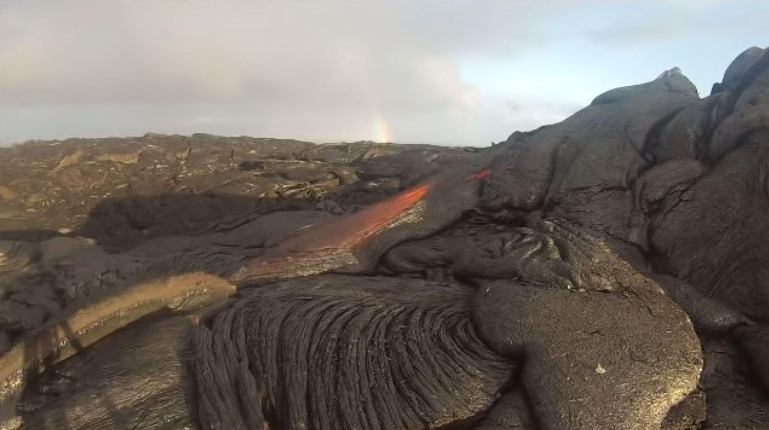 gopro ini selamat daripada lava dan berjaya rakam apa yang terjadi