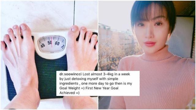 resipi detox dr soo winci berjaya turunkan 4kg dalam masa seminggu