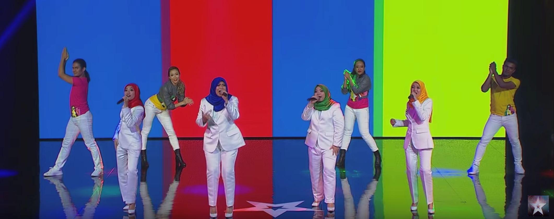 empat gadis jadi wakil malaysia ke grand final asia got talent. tahniah!