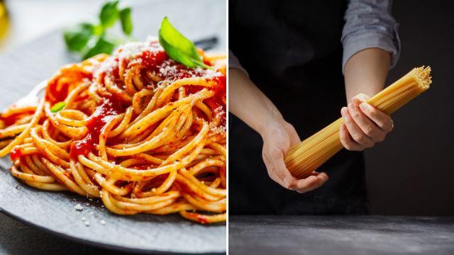 macam mana nak sukat kuantiti spaghetti?