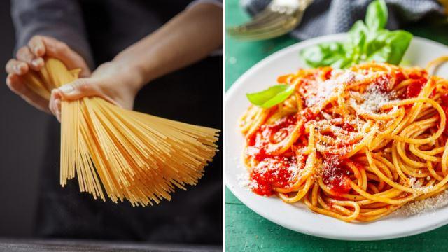 peminat spaghetti, ni cara mudah untuk sukat kuantiti spaghetti