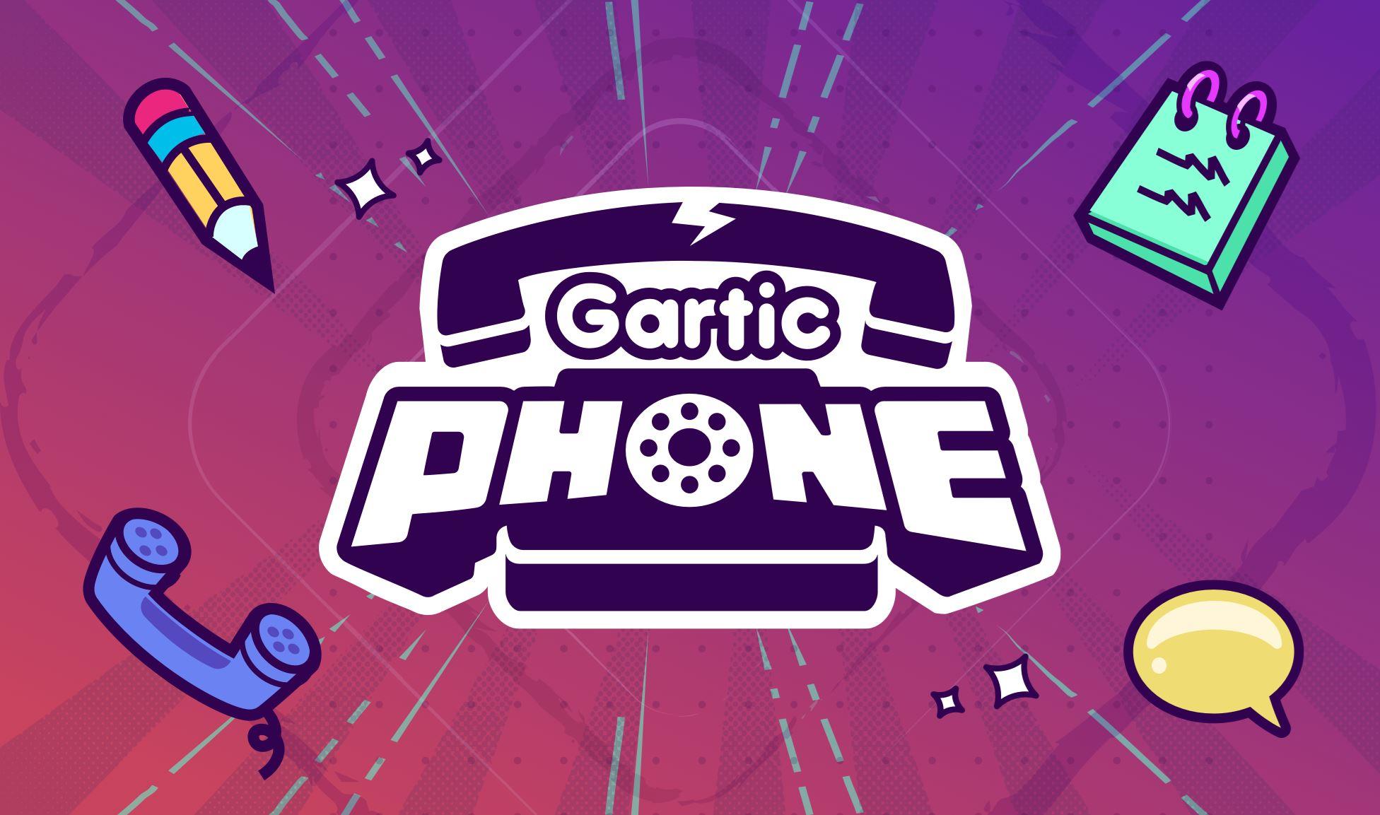 「多人游戏」玩到疯的游戏:gartic phone!笑到流泪😂