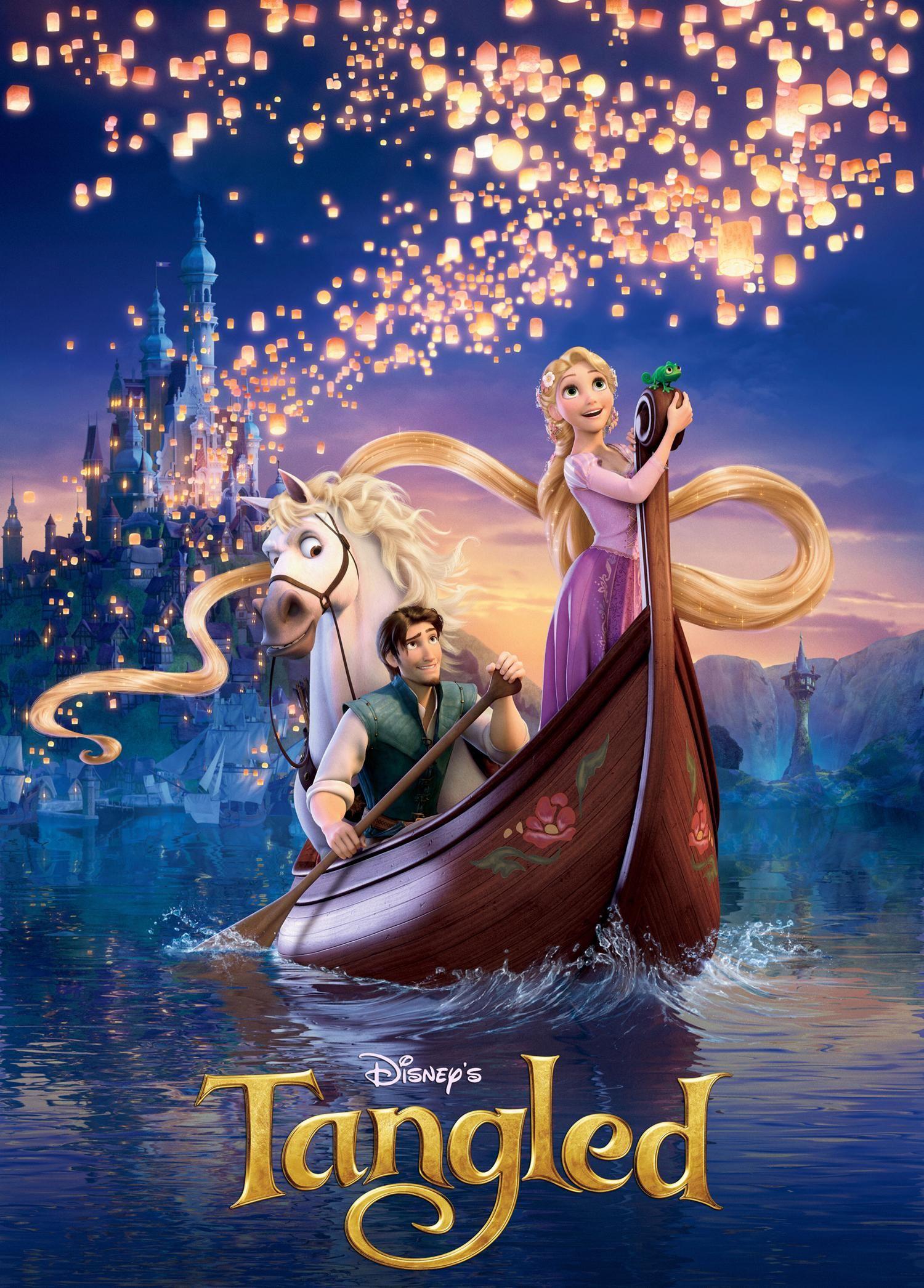 disney翻拍真人版「长发公主」《魔发奇缘》!谁将出演长发公主?❤️