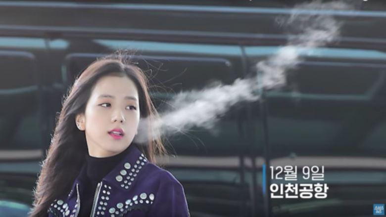 jisoo这一口白气「长达100公分!」 韩媒实测吓到:只有两个可能!|goxuan
