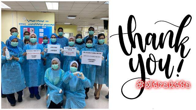 #wirakita爱心护理包,感恩我们的前线英雄!