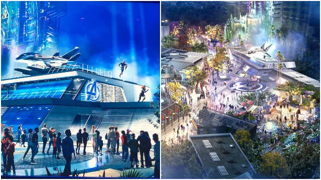 "A Marvel-Themed ""Avengers Campus"" Park Is Coming In 2020!"