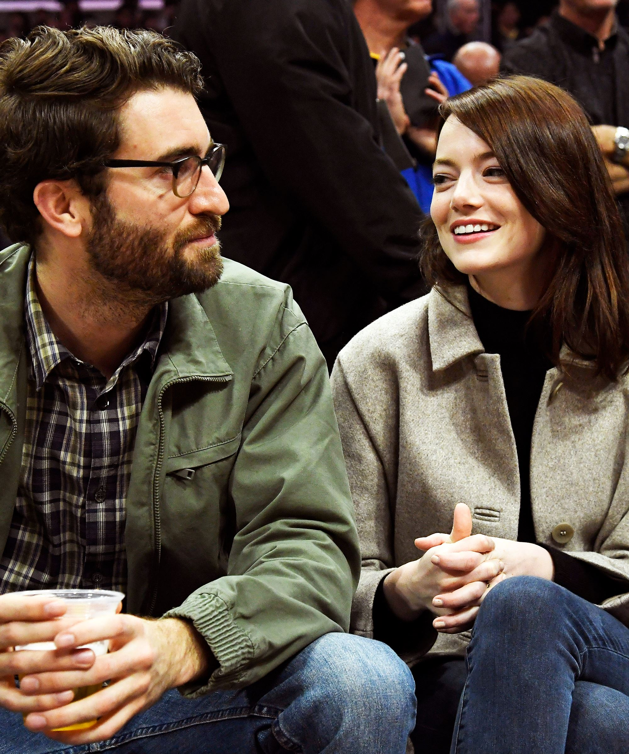 emma stone is officially engaged to dave mccary!