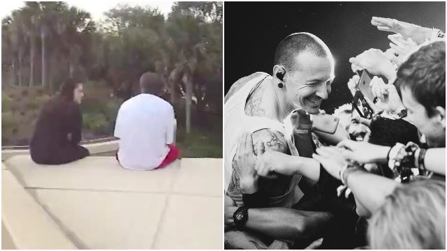 Girl Stopped Man From Jumping Off Bridge Using Linkin Park