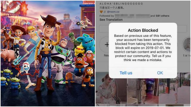 "Msian Girl's Instagram Blocked After Posting ""Toy Story 4"