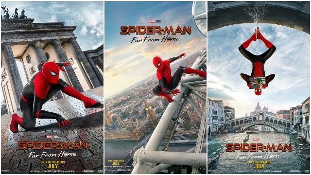 Tom Holland Reveals 3 New 'Spider-Man: Far From Home' Posters But No Trailer…