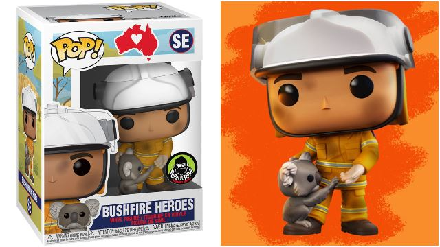 The Australian Firefighters Are Getting Their Own Funko Pop!
