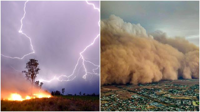 Towns In Australia Hit By Thunderstorms And Dust Storms