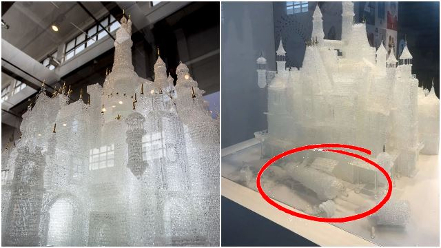 Kids Knock Down World's Largest Glass Blown Castle Worth RM275,000