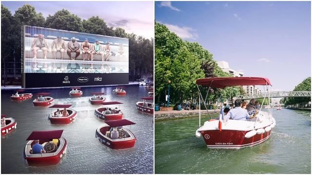 The First Floating-Boat Drive-In Movie Theatre Is Coming To Paris