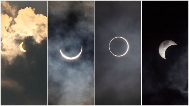 A Solar Eclipse Occurred And People Are Sharing Beautiful Pictures Of The 'Ring Of Fire'