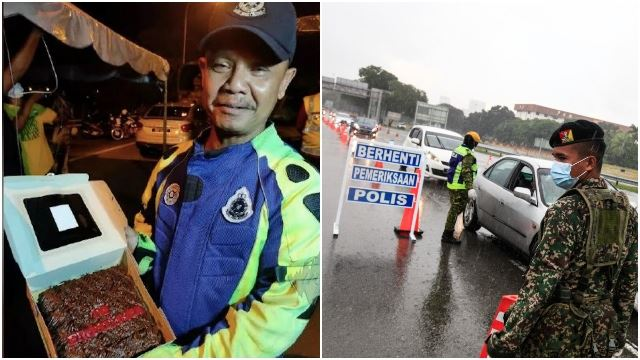 Policeman Finally Gets To Celebrate Son's Birthday After Working Non-Stop for 85 Days During MCO