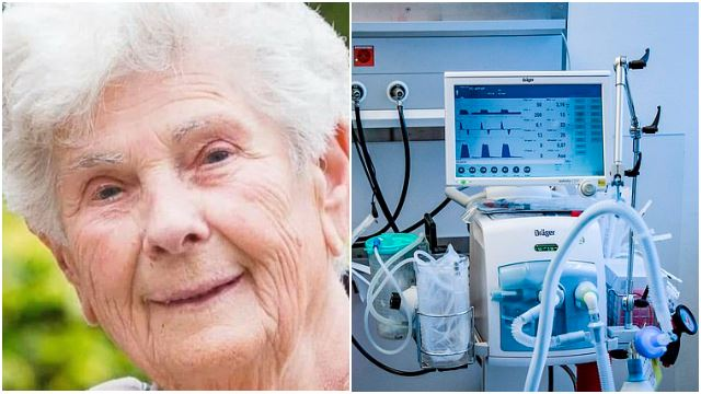 90yo Woman Dies From COVID-19 After Refusing A Ventilator